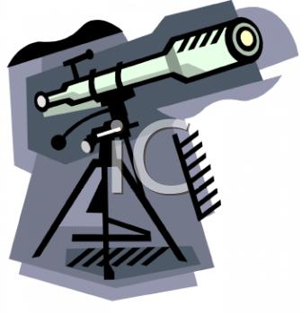 Telescope Clip Art.