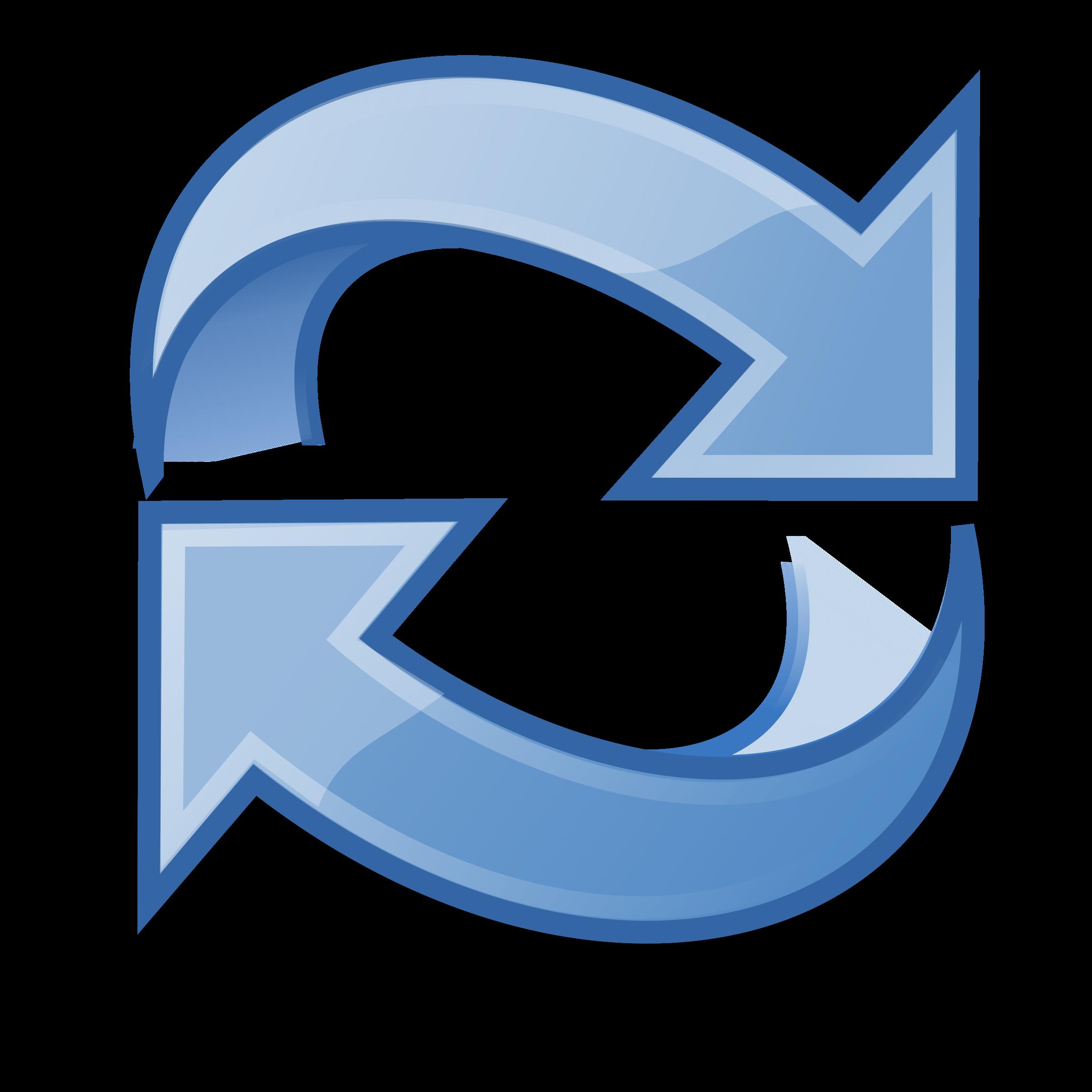 Refresh Icon Vector Clipart image.