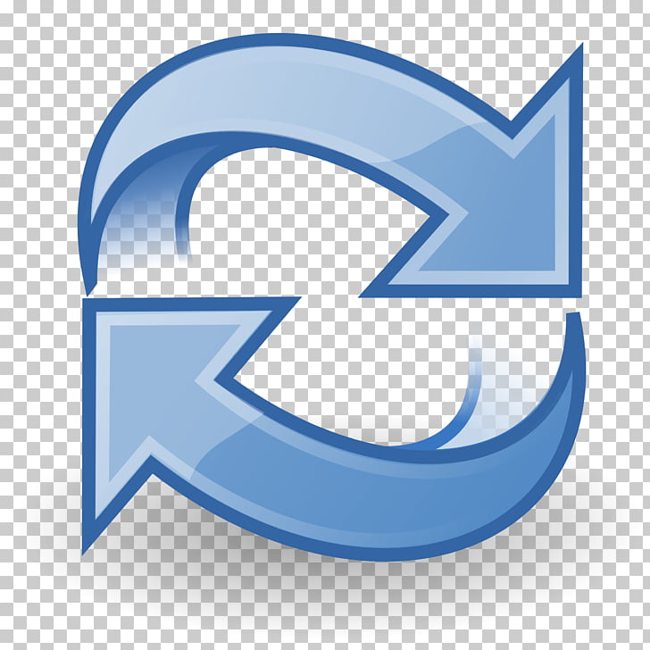 Cartoon Refresh Icon, gray recycle logo PNG clipart.