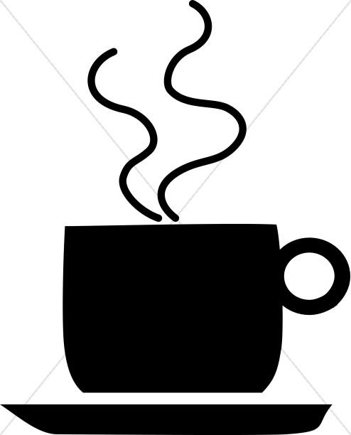 Coffee Hour Clipart, Church Refreshments Clipart.