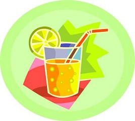 Refreshments clipart free.