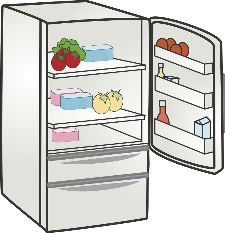 Kitchen Cartoon clipart.