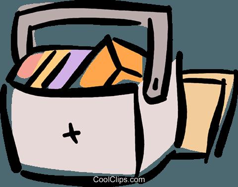 Refrigerador libres de derechos ilustraciones de vectores.
