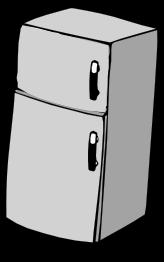 refrigerator.