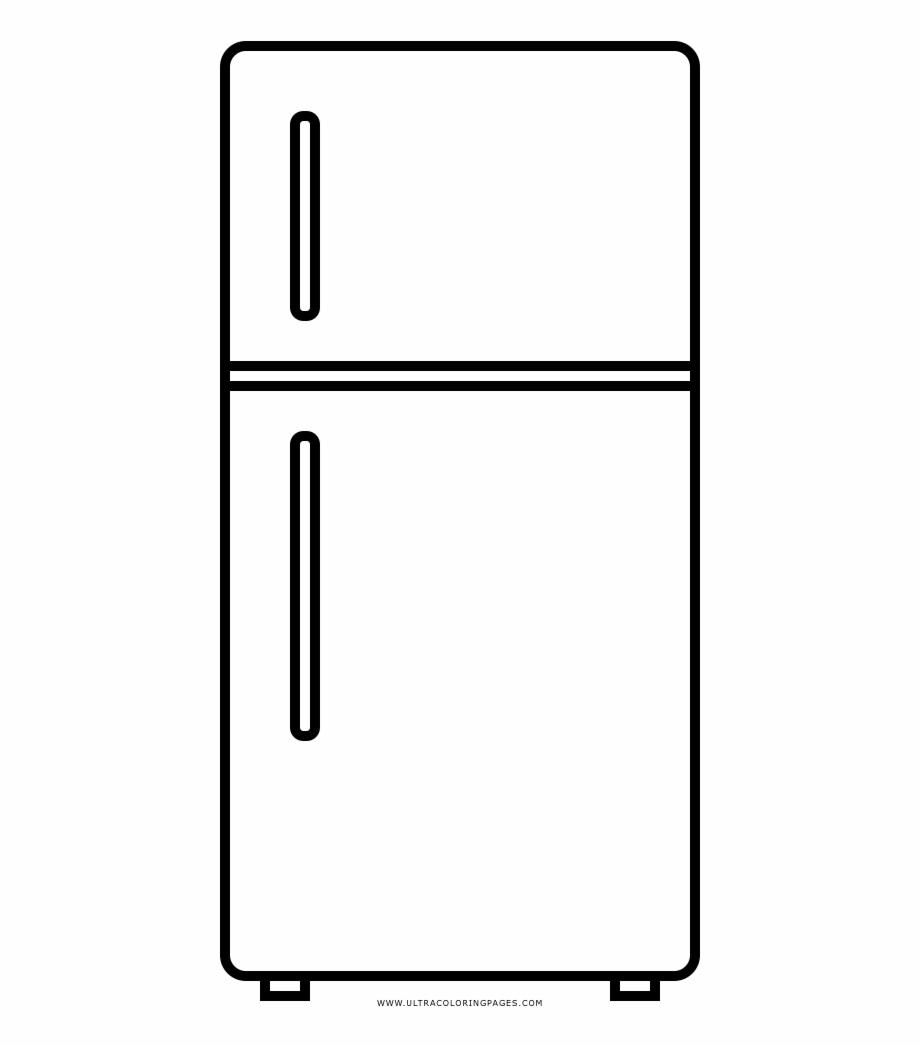 Refrigerador Dibujo Png.