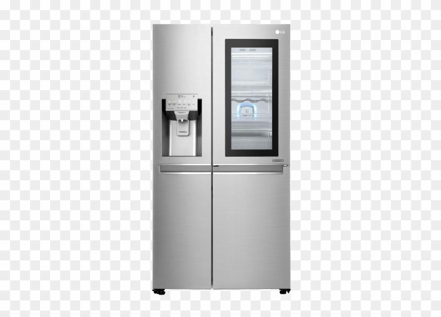 Lg Refrigerator Transparent Png.