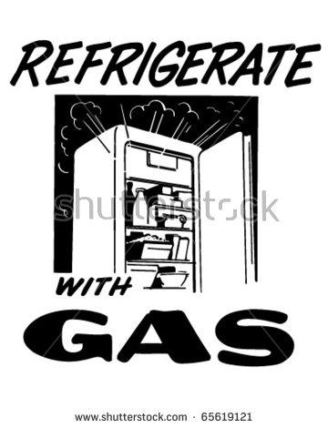 Vintage Refrigerator Stock Photos, Royalty.