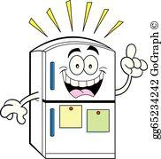 Refrigerator Clip Art.
