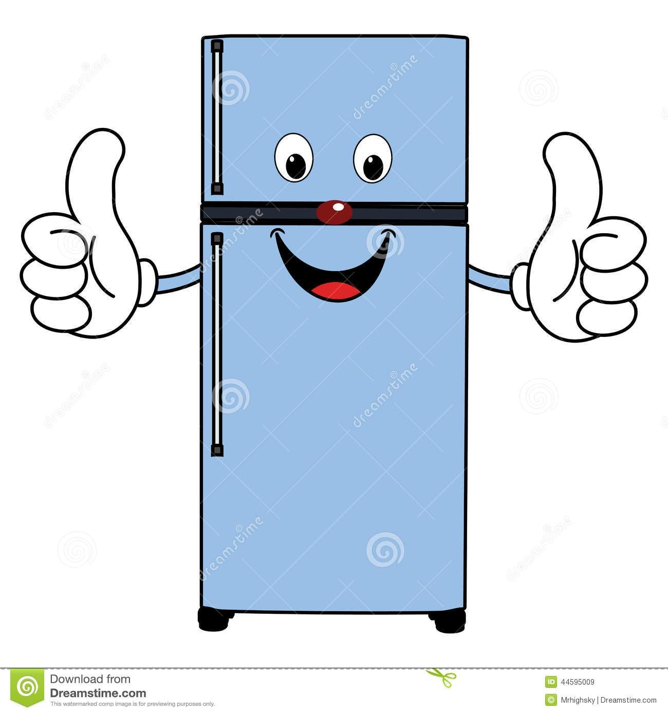 Refrigerator Clipart.