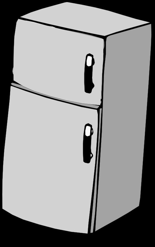Free Refrigerator Clipart.