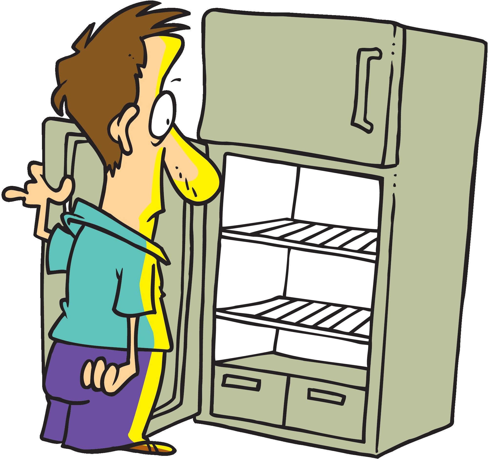 fridge Refrigerator open cliparts free download clip art jpg.