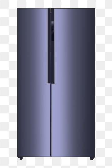 Double Door Refrigerator PNG Images.