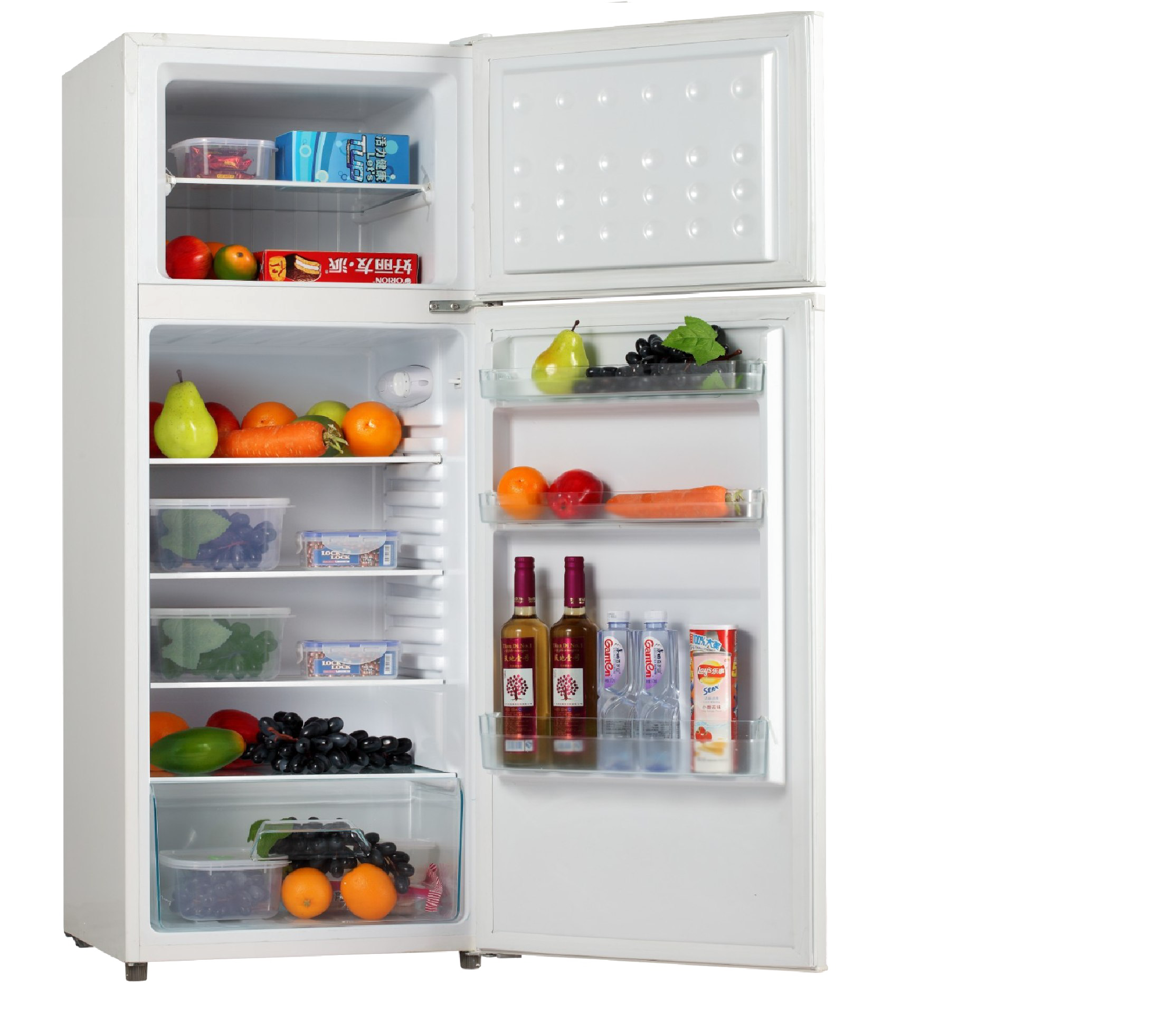Refrigerator PNG Background Image.