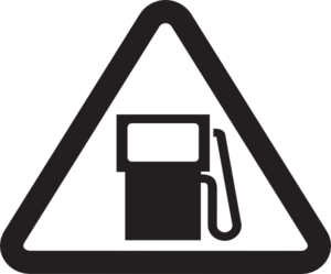 Do Not Use While Refueling Clip Art at Clker.com.