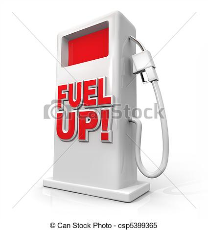 Stock Illustrations of Fuel Up.