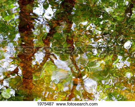 Picture of Water Abstract 17, Massachusetts, Seekonk, Caratunk.