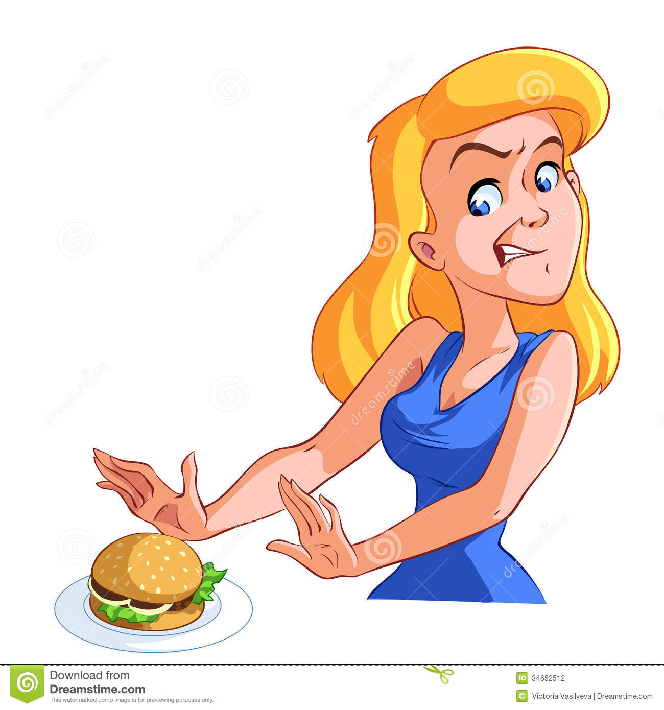 Gallery For > Woman Refusing Clipart.