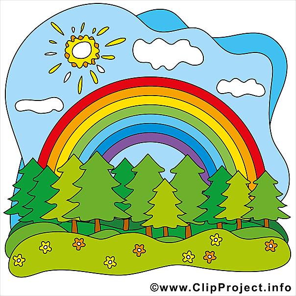 Regenbogen Clip.