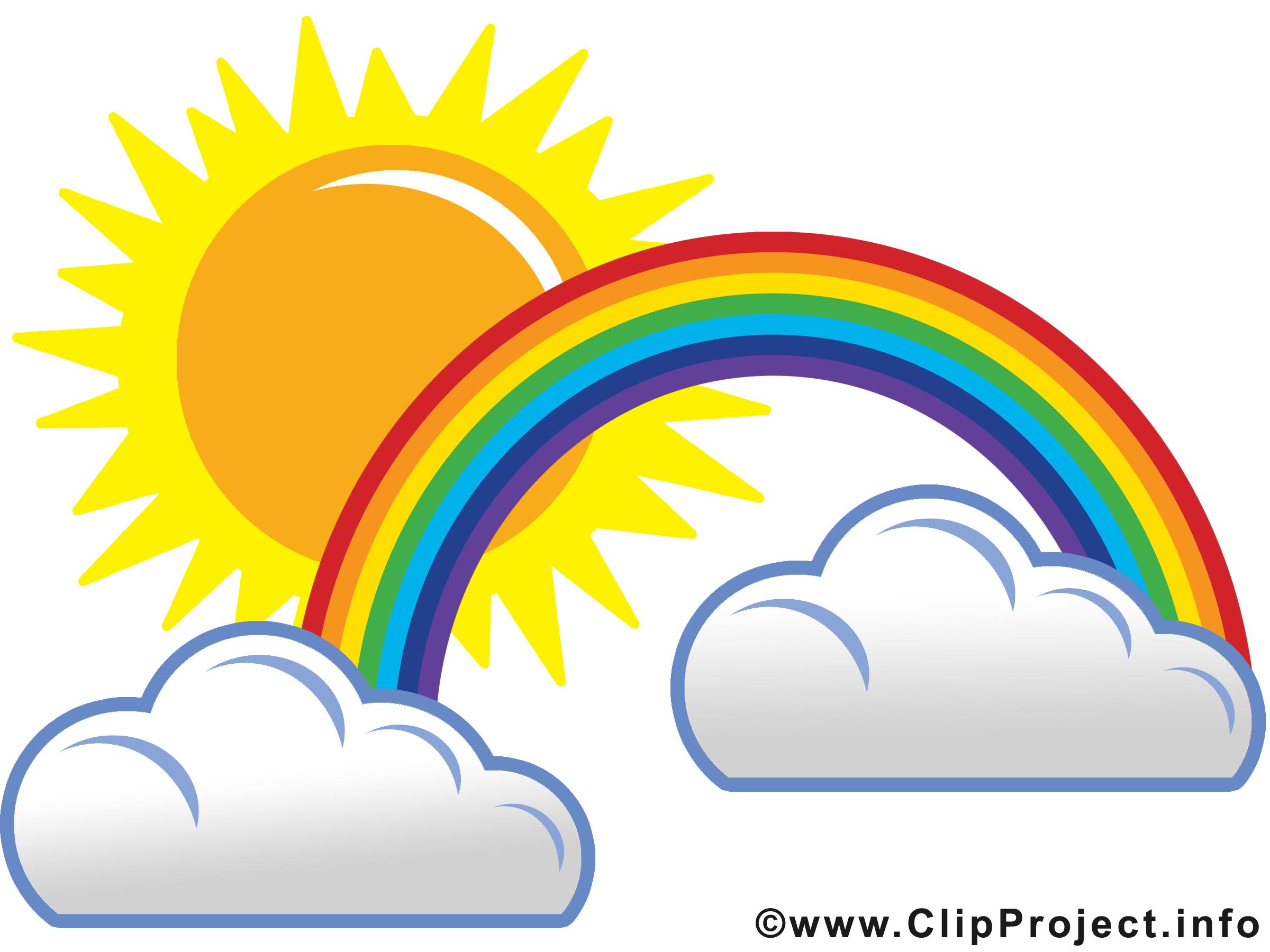 Regenbogen clipart kostenlos.