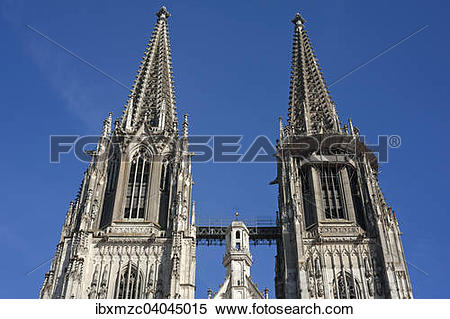 """Stock Image of """"Towers, completed by 1859."""
