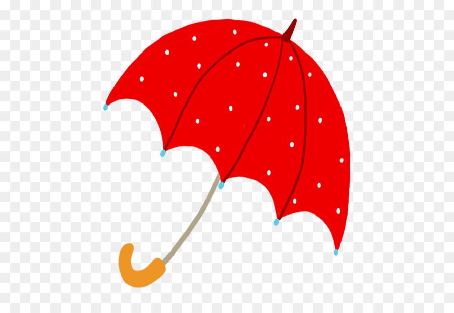 Roten Regenschirm.