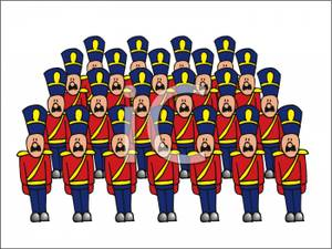 Regiment Of Toy Soldiers.