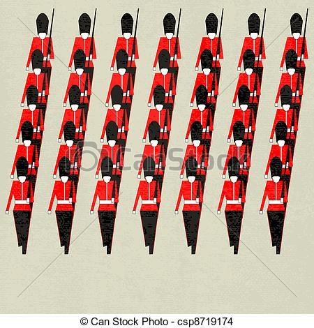Regiment Vector Clipart Royalty Free. 222 Regiment clip art vector.