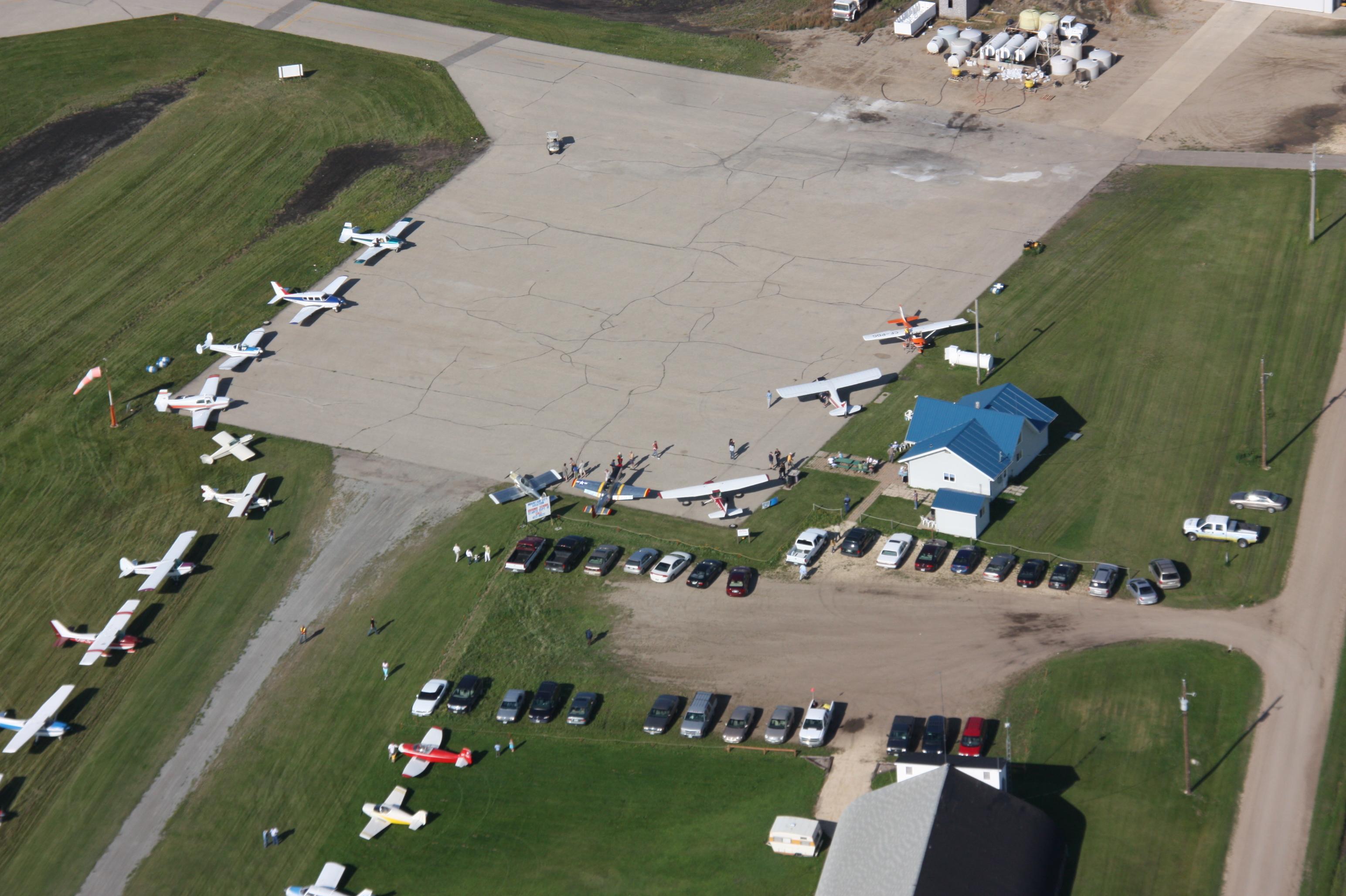 Morden Regional Airport.