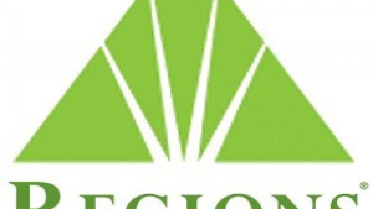 Regions Financial Corporation Logo and Tagline.
