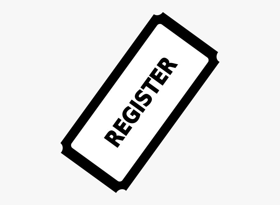 Register Ticket Button Clip Art.