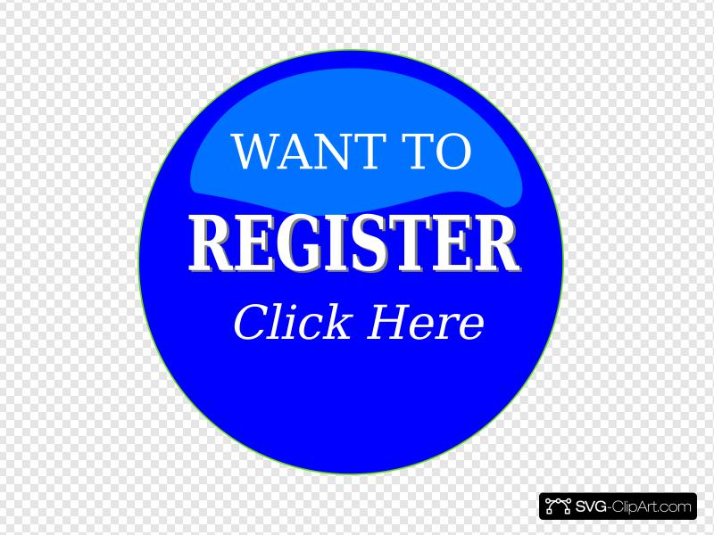 Register Button Clip art, Icon and SVG.