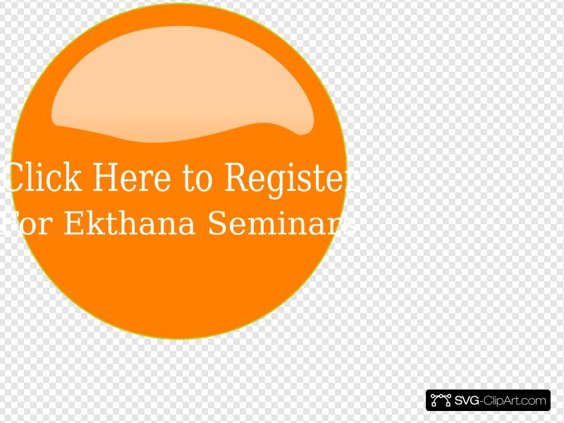 Orange Register Here Button Clip art, Icon and SVG.