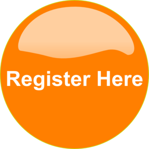 Orange Button Register Here PNG, SVG Clip art for Web.