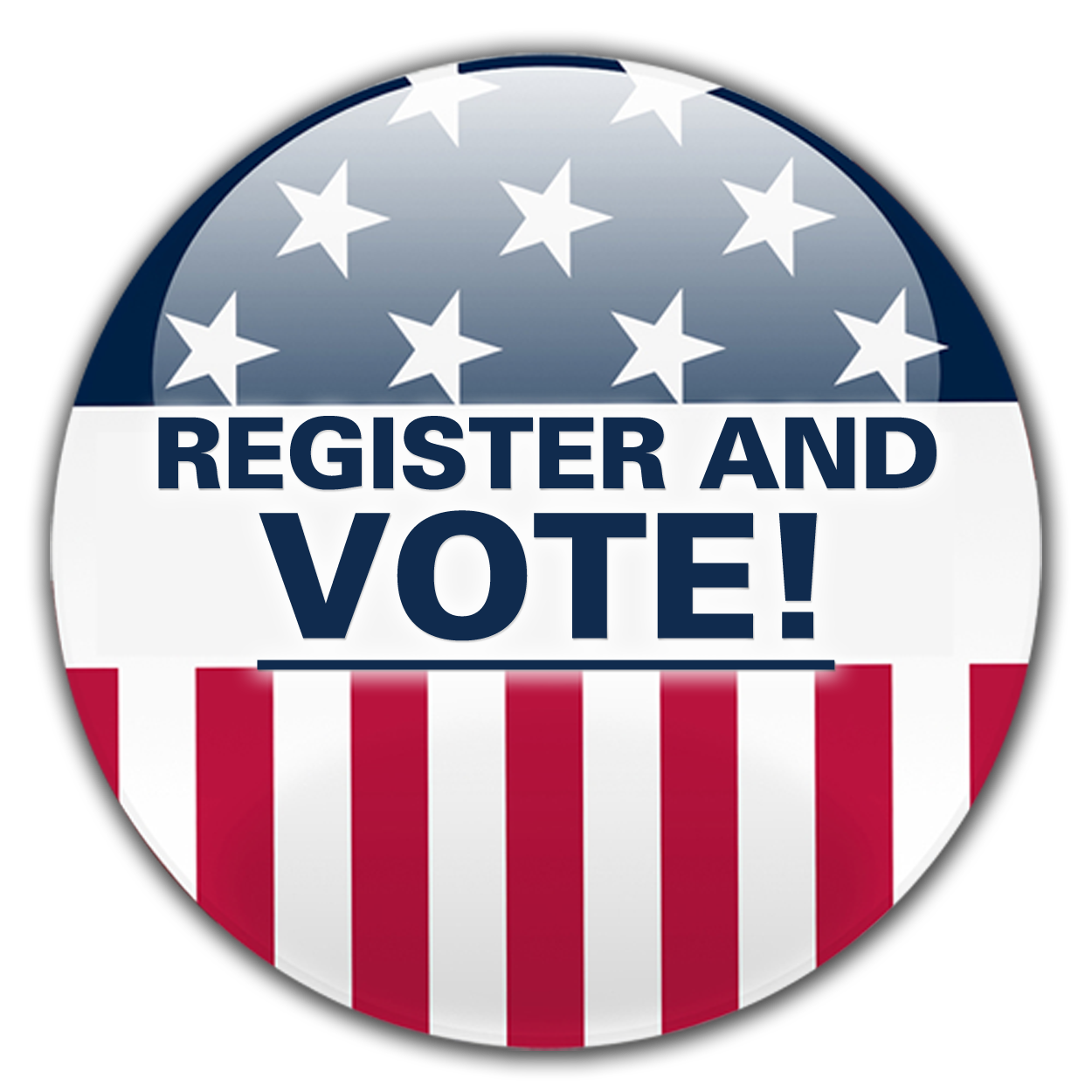 Register To Vote Circle PNG Clipart #46784.