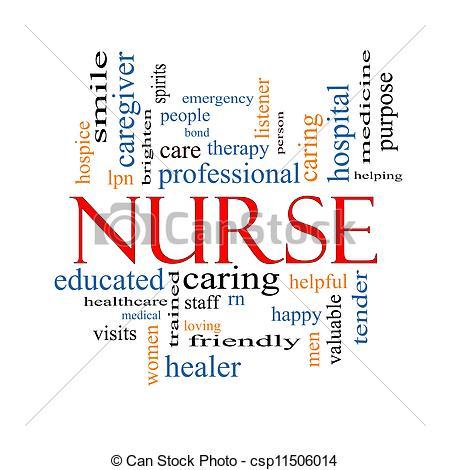 Registered nurse clip art.