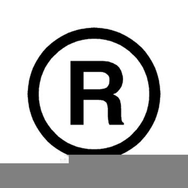 Registered Trademark Symbol Clipart.