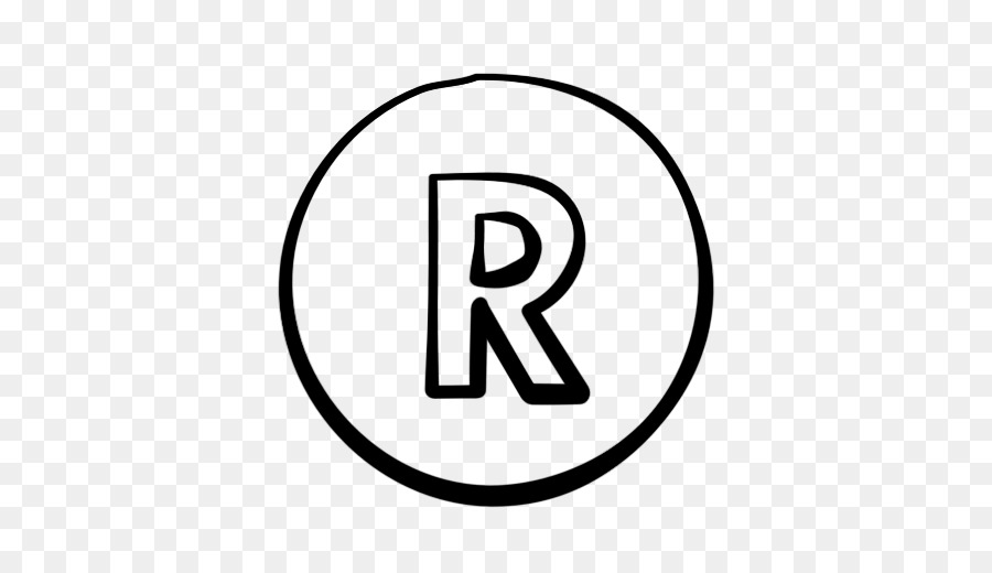 Registered trademark symbol Logo.