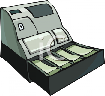 Cash Register Clip Art.