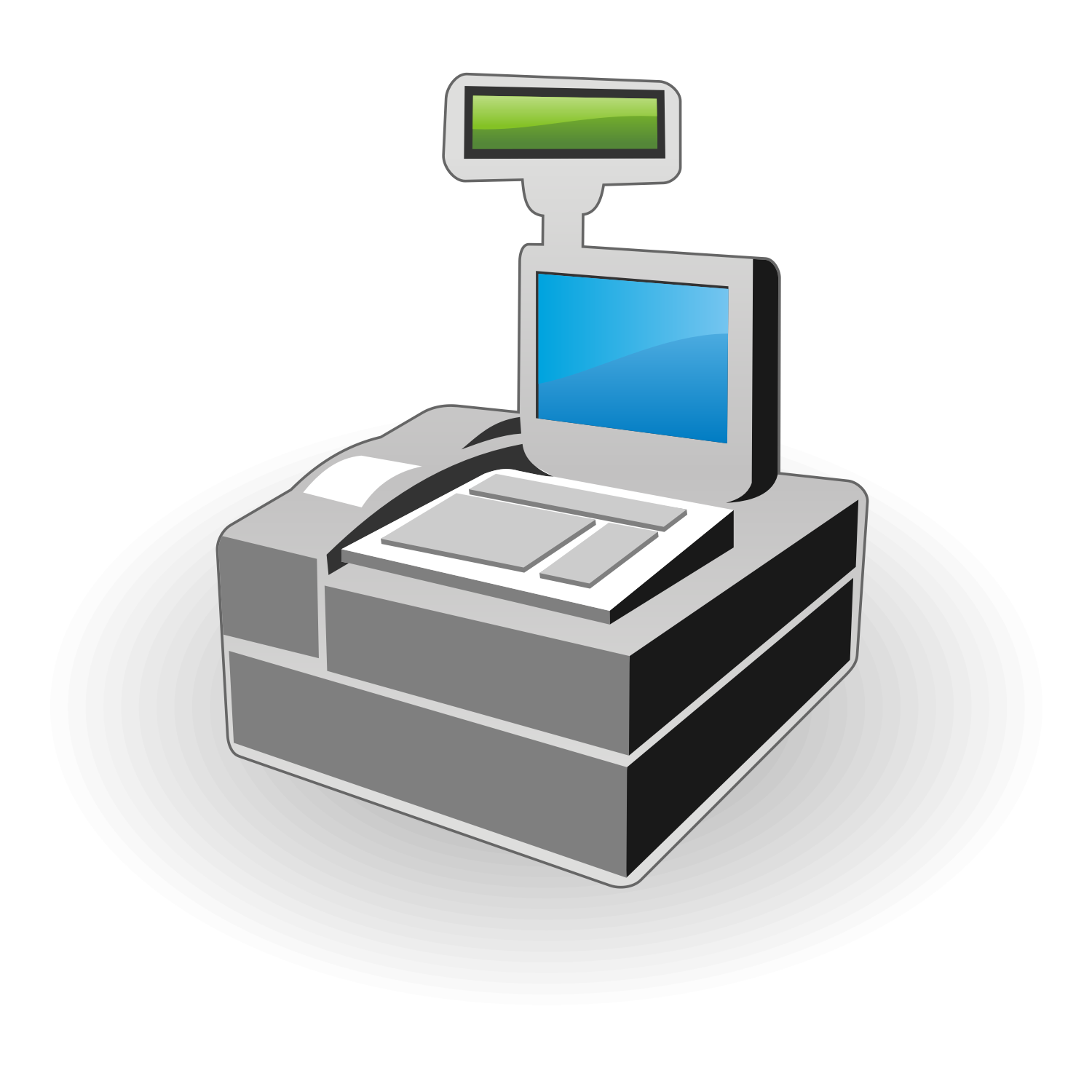 Cash Register Icon.