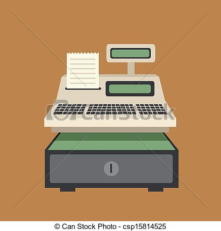 Cash register Stock Illustrations. 2,730 Cash register clip art.