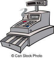 Cash registers Stock Illustrations. 2,730 Cash registers clip art.