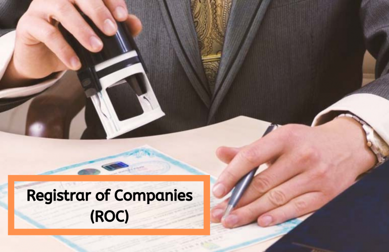 Key Function of Registrar of Companies State Wise.