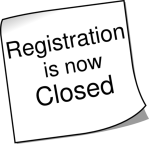 Registration Closed 2 Clip Art at Clker.com.
