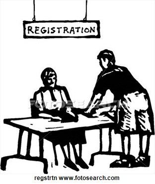 Registration clipart 3 » Clipart Station.