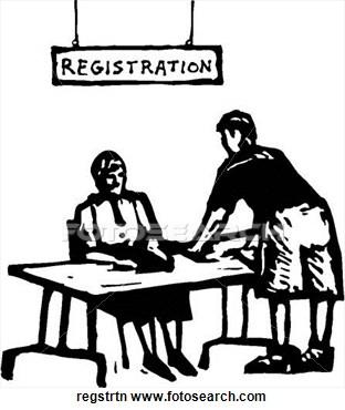 10+ Registration Clipart.