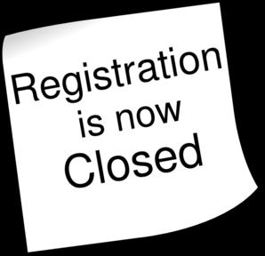 Registration Closed 2 Clip Art at Clker.com.