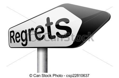 No regrets Illustrations and Stock Art. 69 No regrets illustration.