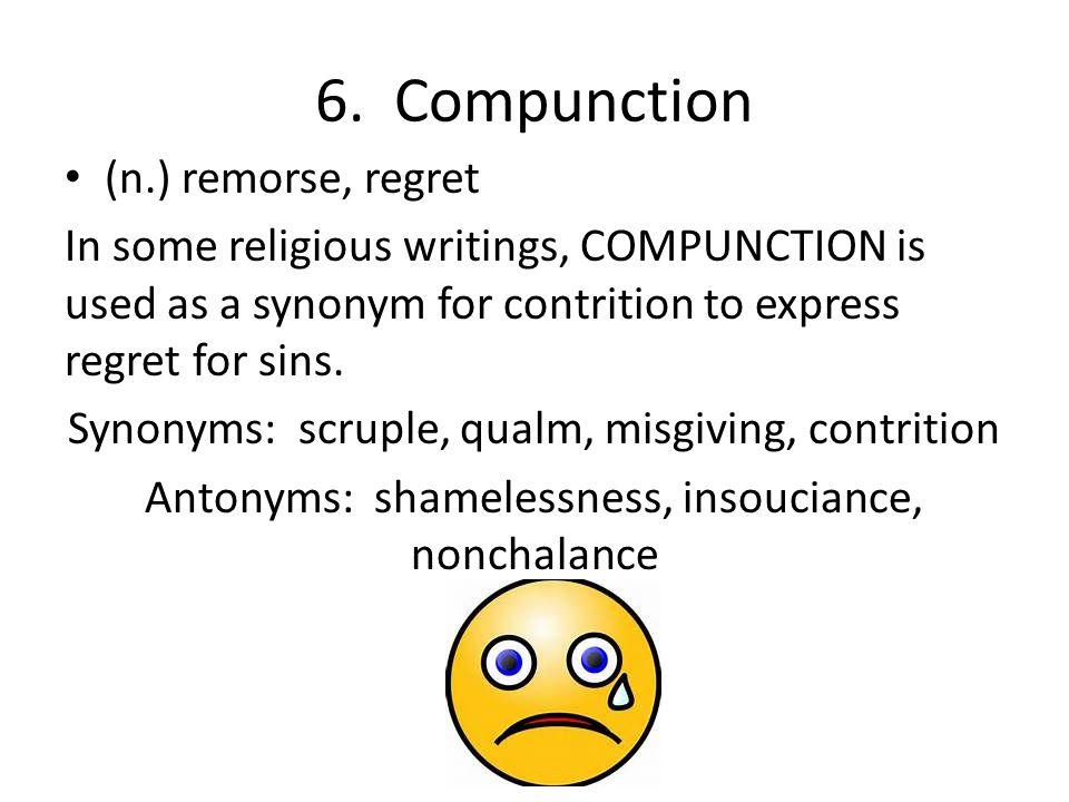 Regret Synonym.