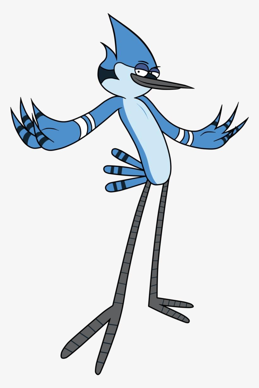 Blue Jay Regular Show Transparent PNG.