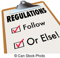 Drawing of Regulated Vs Unregulated Switch Approving Laws Rules.